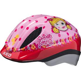 KED Meggy II Originals Lapset Pyöräilykypärä , vaaleanpunainen/punainen